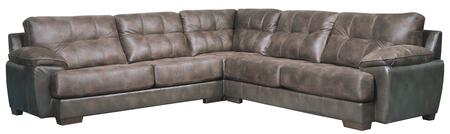"Jackson Furniture Drummond Collection 4296-63-59-73- 128"" 3-Piece Sectional with Left Arm Facing Sofa, Corner and Right Arm Facing Sofa in"