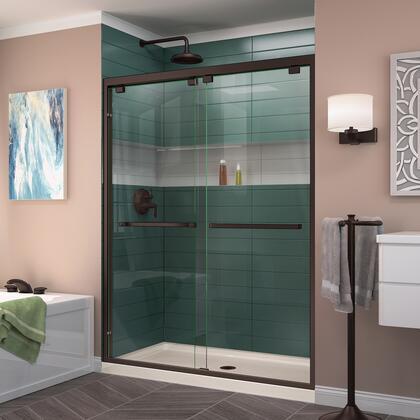 DreamLine Encore Shower Door RS50 06 22B CenterDrain