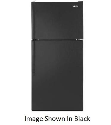 Amana A8TXEGFYS Freestanding Top Freezer Refrigerator with 17.6 cu. ft. Total Capacity 2 Glass Shelves 4.07 cu. ft. Freezer Capacity