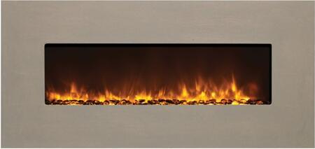 Amantii BLTIN5124MODERNOVENETIANGREY Wall Mountable Electric Fireplace