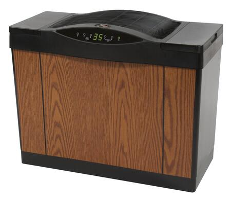 """Essick Air 4DTS 14"""" Console Style Large Home Evaporative Humidifier with Up to 13 Gallons Daily Output, 5.5 Gallon Capacity, Up to 2700+ Sq. Ft., Digital Display, and Multi-Speed Control in"""