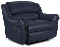Lane Furniture 21414174597560 Summerlin Series Transitional Leather Wood Frame  Recliners