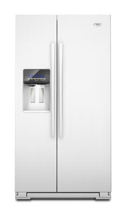 Whirlpool GSF26C4EXW Freestanding Side by Side Refrigerator |Appliances Connection