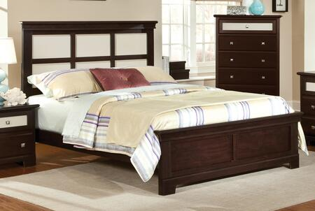 Harden 7100Q  Queen Size Panel Bed
