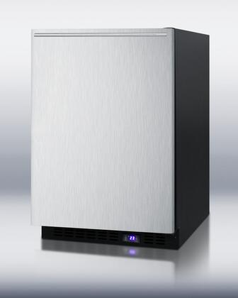 "Summit SCFF51OSXSSHH24"" Freestanding Upright Counter Depth Freezer"