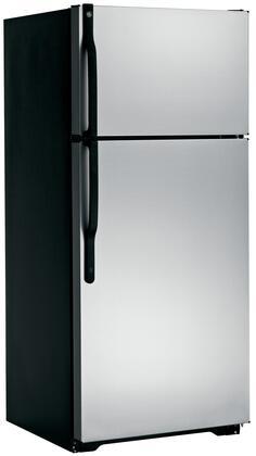 GE GTJ17DBESA Freestanding Top Freezer Refrigerator with 16.5 cu. ft. Total Capacity