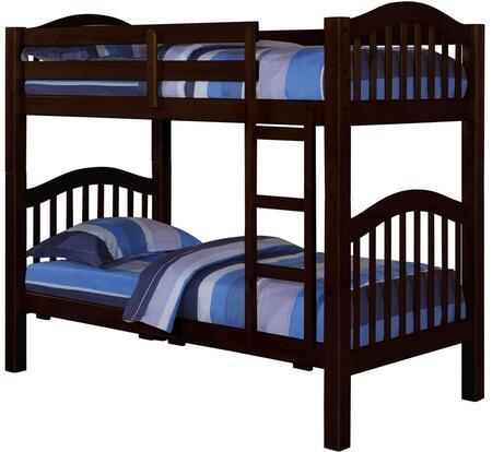 Acme Furniture 02554 Heartland Series  Twin Size Bunk Bed