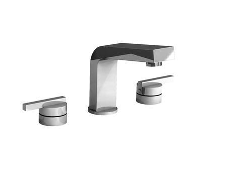 "Aquabrass 28016-18073 Hey Joe 5-1/4"" Widespread Lavatory Faucet w/ Lever Handles"