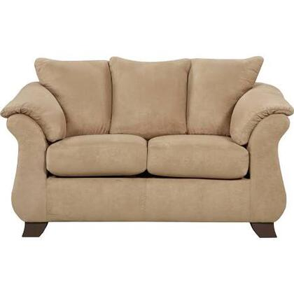 Flash Furniture 6702SENSATIONSXXGG Exceptional Designs Sensations Loveseat in Microfiber