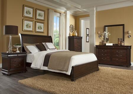 Klaussner 398QSBDMN Parkview Queen Bedroom Sets