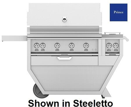60 in. Deluxe Grill with Side Burner   Prince