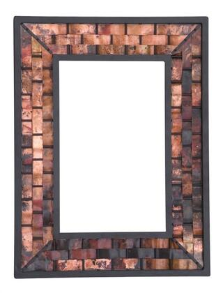 Stone County Ironworks 938010SMLCOP  Square Portrait Wall Mirror