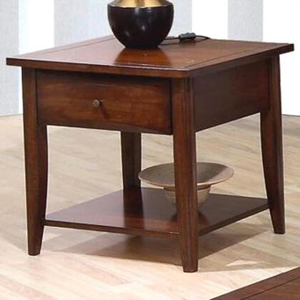 Coaster 700957 Whitehall Series Contemporary Wood 1 Drawers End Table