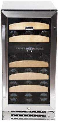 "Whynter BWR281DZ 15"" Built-In Wine Cooler, in Stainless Steel"