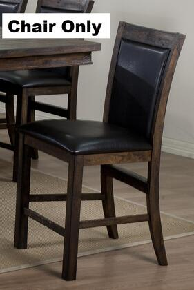 Legends Furniture ZIS8081 Sonoma Series Traditional Vinyl Wood Frame Dining Room Chair