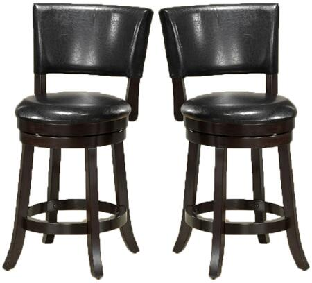 Monarch I1286 Residential Faux Leather Upholstered Bar Stool