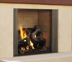 Majestic Odcastlewd42 Direct Vent Woodburning Fireplace Appliances