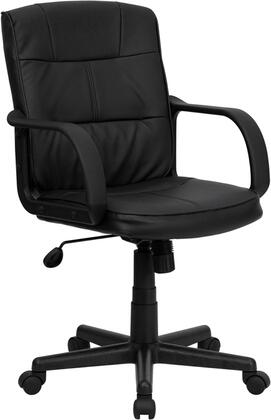 "Flash Furniture GO228SBKLEAGG 25"" Contemporary Office Chair"