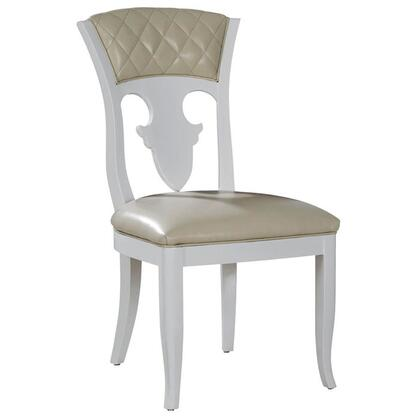 VIG Furniture VGWCTEM8TY005 Othello Series Modern Leather Wood Frame Dining Room Chair