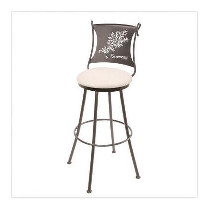 Stone County Ironworks 902771LHRLBK Rosemary Series  Bar Stool |Appliances Connection