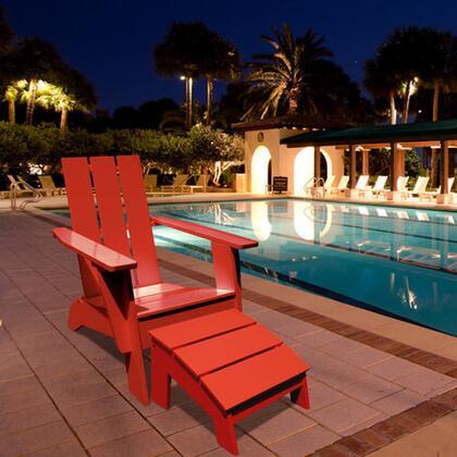 Vifah V1258E  Wood Aidrondack Chair