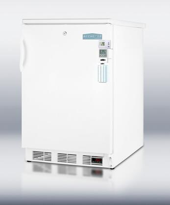 "Summit FF6LBIMEDSC 24"" Medical Series Compact Refrigerator with 5.5 cu.ft. Capacity in White"