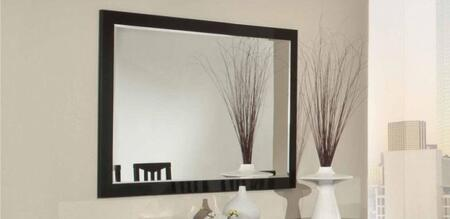 VIG Furniture VGACCELITEBM Elite Series Rectangular Landscape Mirror