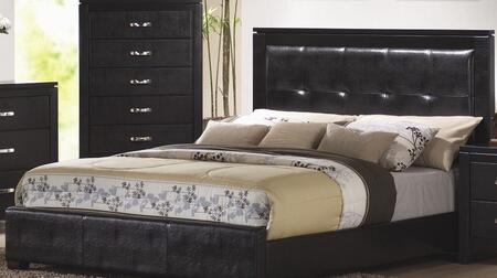 Coaster 201401Q Dylan Series  Queen Size Panel Bed