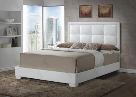 Glory Furniture G2594QBUP G2500 Series  Queen Size Panel Bed