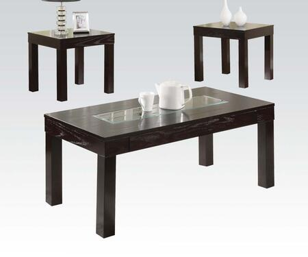 Acme Furniture 16225 Contemporary Living Room Table Set