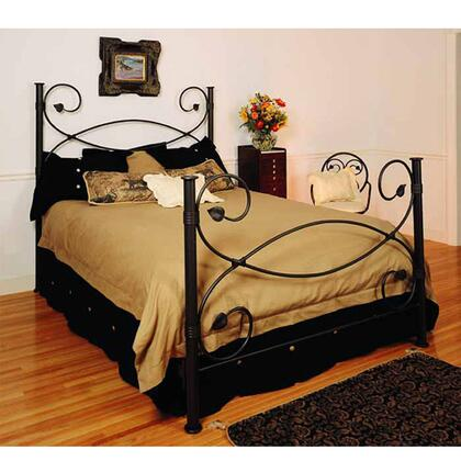 Stone County Ironworks 900698ACGA Castanea Series  Twin Size Poster Bed