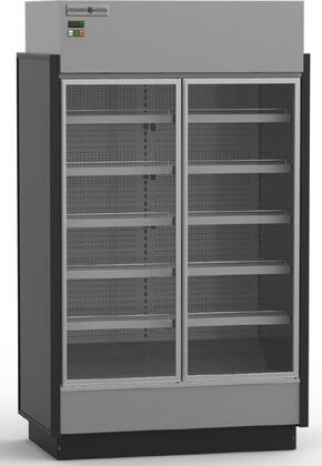 Hydra-Kool KGVMDxS High Volume Grab-N-Go Case with Doors, cu. ft. Capacity, HP, Doors Front Load, in Black