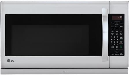 LG LMH2235ST 30 Inch Over the Range 2 2 cu  ft  Capacity Microwave Oven