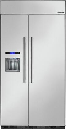 "Thermador T42BD810NS 42"" Counter Depth Side by Side Refrigerator with 24.8 cu. ft. Capacity in Stainless Steel"