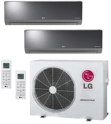 LG 704032 Dual-Zone Mini Split Air Conditioners