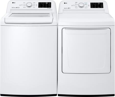 LG WT7100CW 4 5 cu  ft  27 Inch Top Load Washer