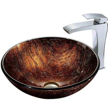 Vigo VGT185 Chrome Bath Sink
