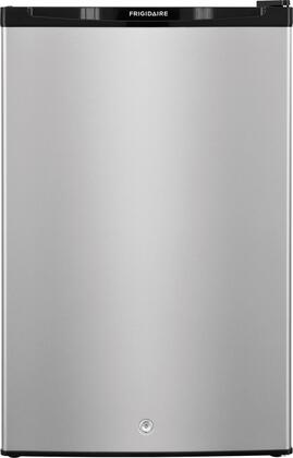 """Frigidaire FFPE4522Q 22"""" Energy Star Rated Compact Refrigerator with 4.5 cu. ft. Capacity, Lock, Store More Crisper Drawer and Door Bins, Reversible Door Swing and Bright Lighting in"""