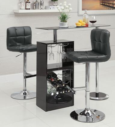 Coaster 120451TC Bar Units and Bar Tables Bar Table Sets