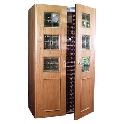"""Vinotemp VINO700EMPIREBVM 51"""" Wine Cooler"""