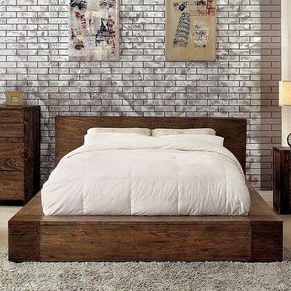 Furniture of America CM7628QBED Janeiro Series  Queen Size Bed