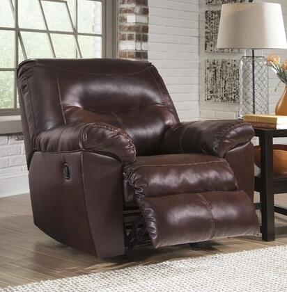 Signature Design by Ashley 8470225 Kilzer Series Contemporary Metal Frame Rocking Recliners