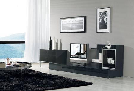 VIG Furniture VGKCMARYLANDBLK