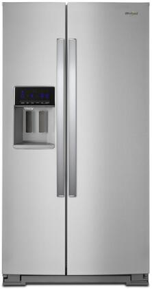 whirlpool gold side by side refrigerator. whirlpool main image side gold by refrigerator