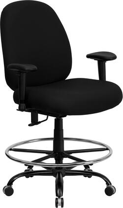 "Flash Furniture WL715MGBKADGG 29.5"" Contemporary Office Chair"