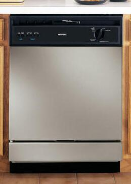 "Hotpoint HDA3640VSA 24"" 2100 Series Built In Full Console Dishwasher"