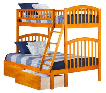 Atlantic Furniture AB64247  Twin Over Full Size Bunk Bed