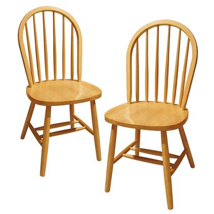 Winsome XX999 Set of 2, Windsor Chair, Assembled
