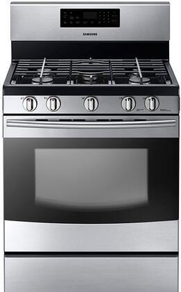 "Samsung Appliance NX58F5300SS 30"" Gas Freestanding"