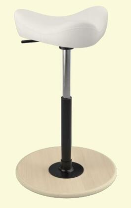 "Varier MOVE SMALL 2700- 19"" - 27"" Sit-Stand Chair with"